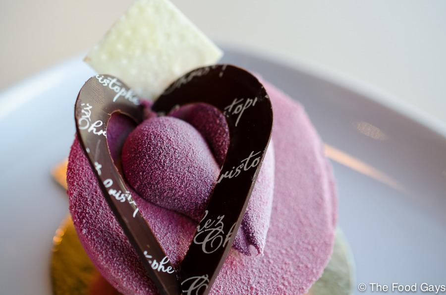 Valentine's Dessert by Chez Christophe