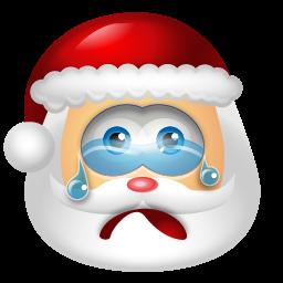 Santa-Claus-Cry-icon