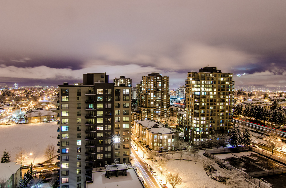 Vancouver snow snowfall snowstorm