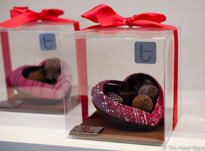 Chocolate Heart Sculpture by Temper