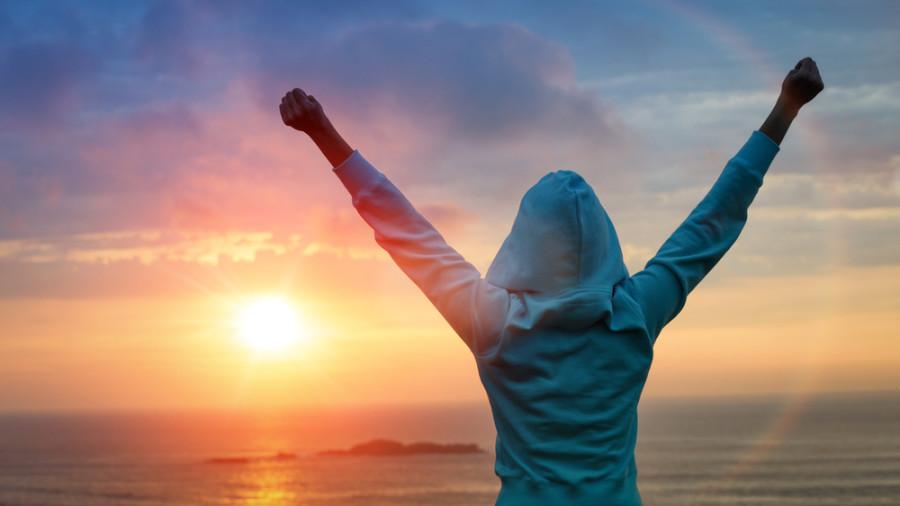 Life achievements success concept / Shutterstock