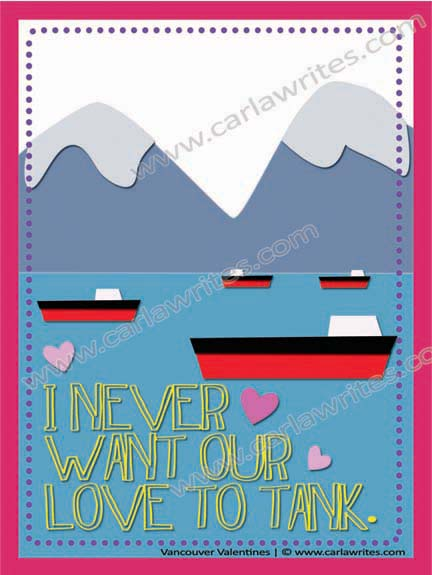 Valentine's Day Vancouver cards