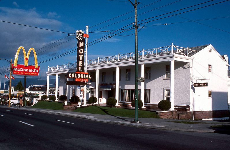 vancouver 1977 - colonial motel