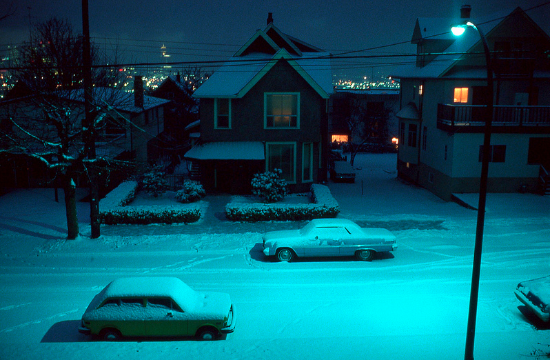 vancouver 1977 - winter west 11th