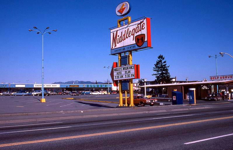 vancouver 1978 - middlegate shopping centre