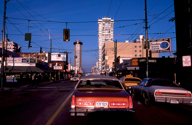vancouver 1978 - robson & thurlow