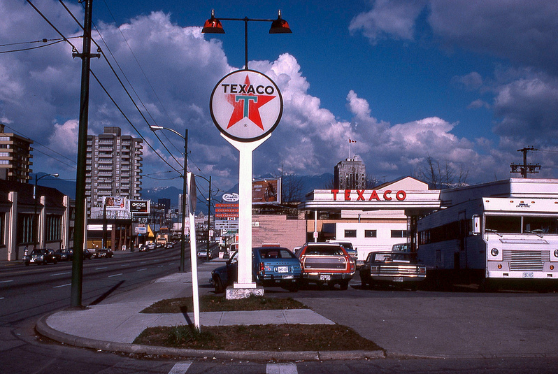 vancouver 1978 - texaco 15th and cambie