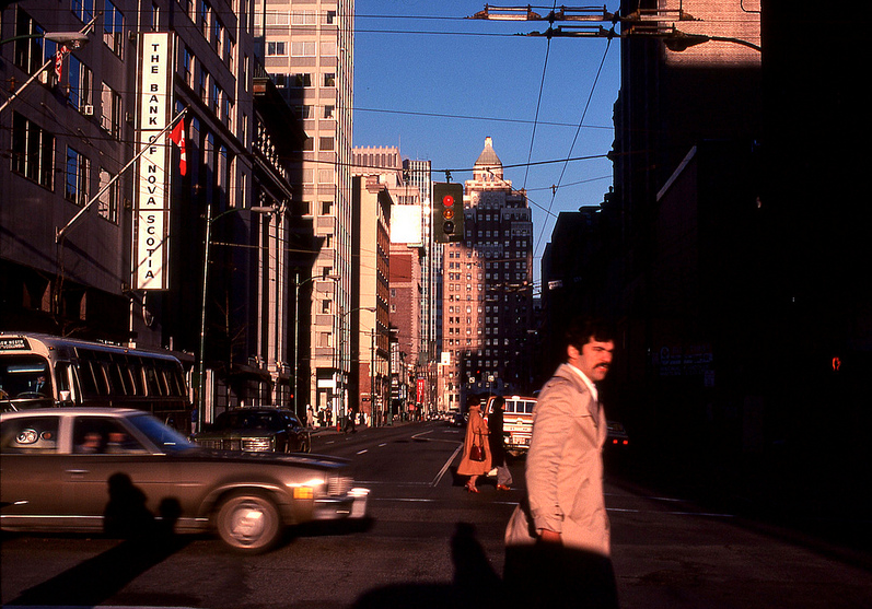 vancouver 1978 - west on hastings