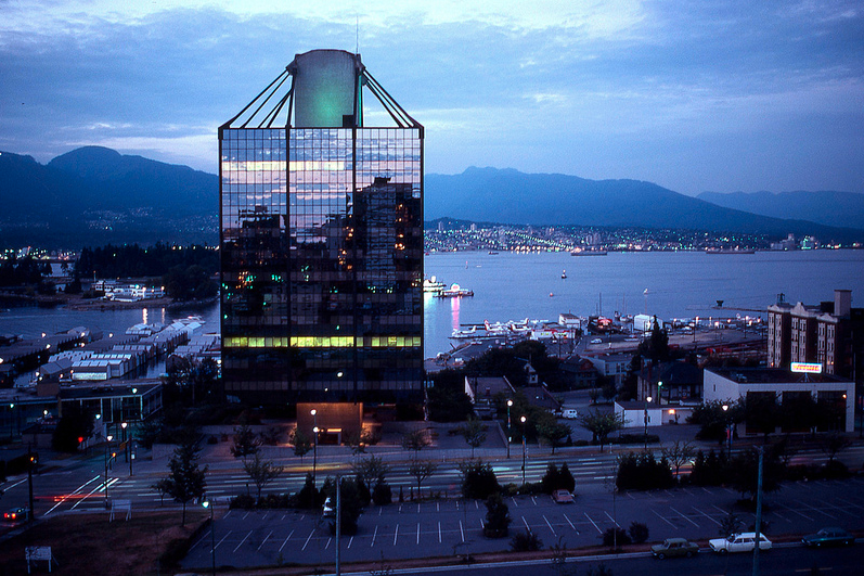 vancouver 1979 - west coast transmission building