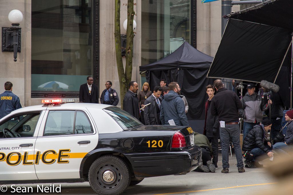 The Flash Filming Vancouver Grant Gustin