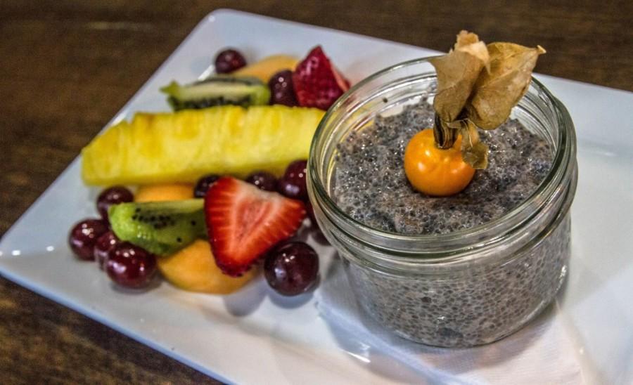Chia Seed Pudding. Photo by Charles Zuckermann
