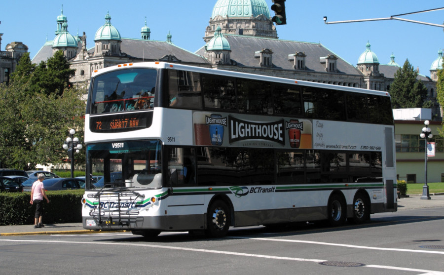BC Transit Victoria double-decker bus
