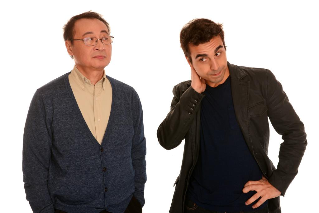 BC Lee (Hong) & Michael Antonakos (Matthew)