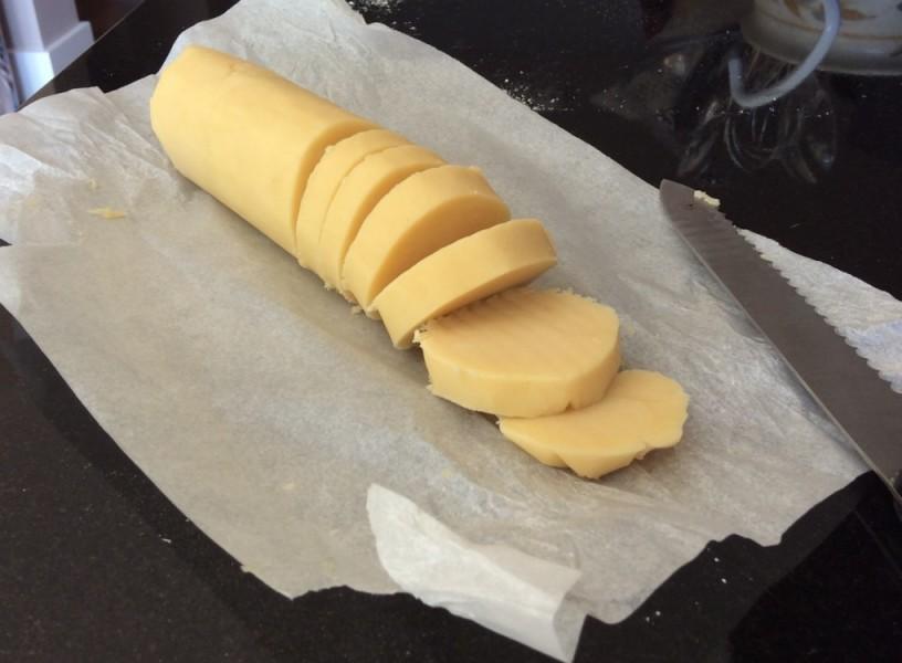 Raw Shortbread