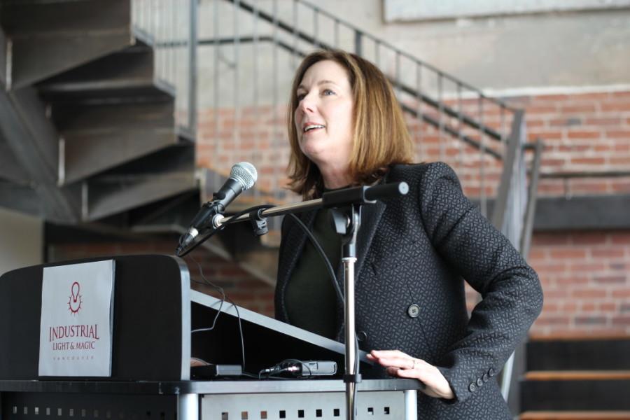 Kathleen Kennedy unveiling new Gastown satellite office
