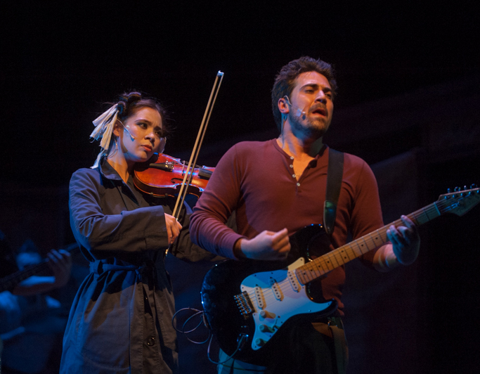 Marlene Ginader and Kayvon Kelly - Persephone Theatre 2013.-2