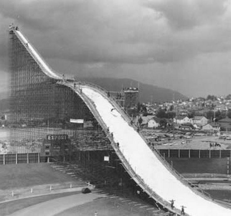 Empire Stadium Ski Jump Vancouver