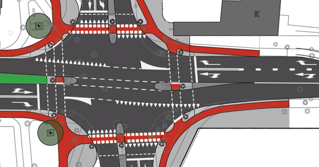 Dutch Way Of Bike Lane Design Solves Problem Of Left And