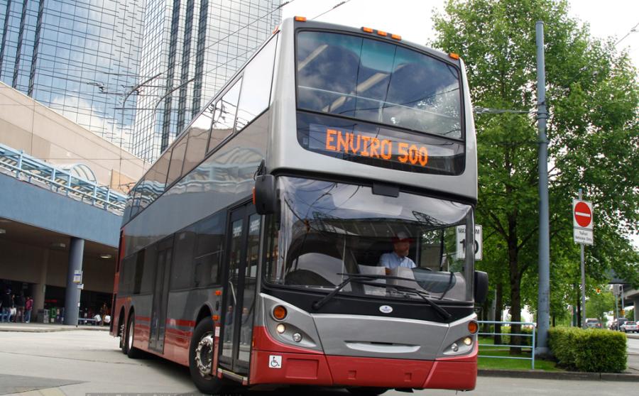 Double decker bus Alexander Dennis Limited