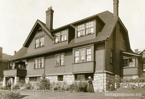 Gordon T. Legg house (1899), 1245 Harwood Street