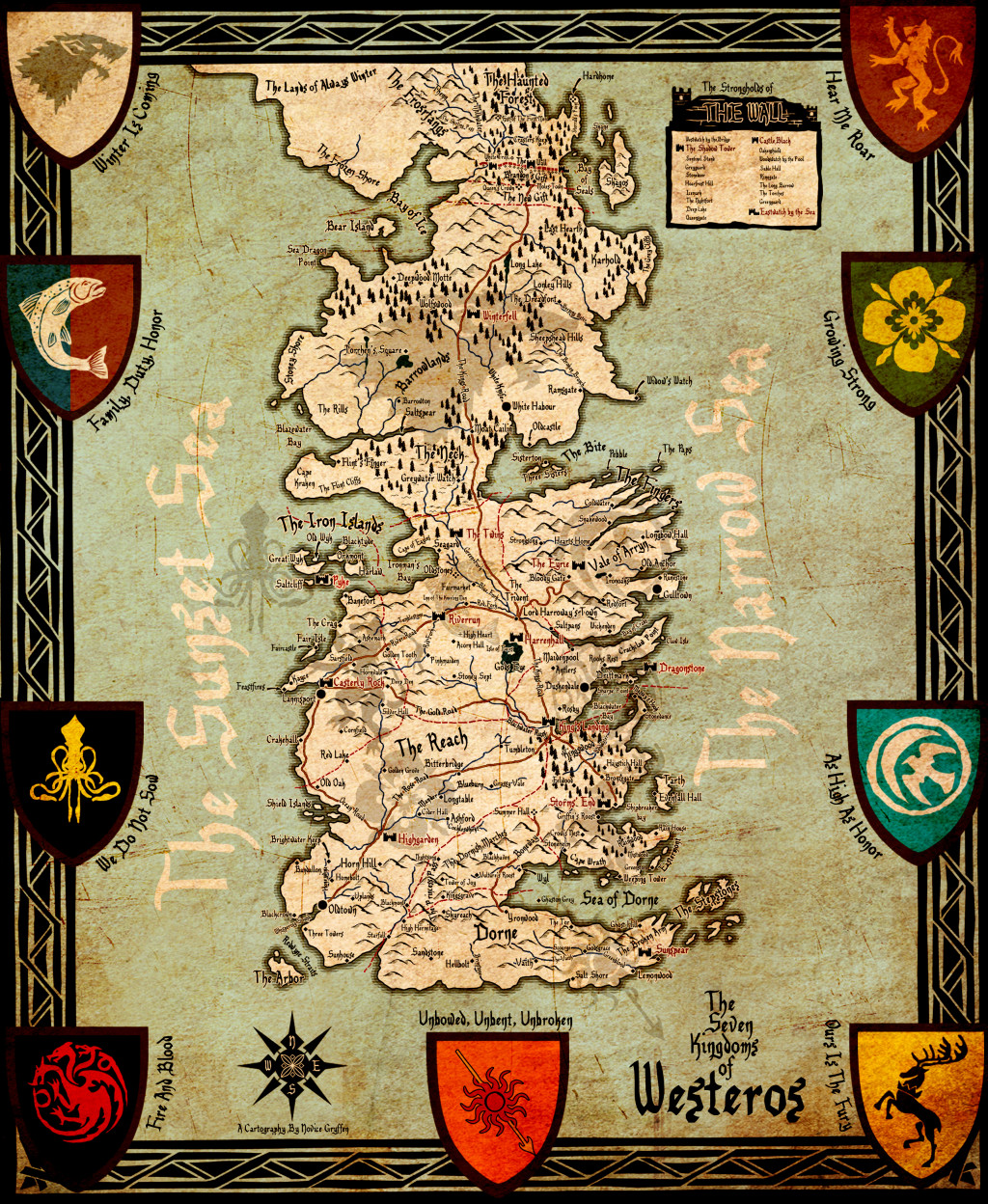 Bc as game of thrones039 kingdoms of westeros vancouver is game of thrones westeros map gumiabroncs Images