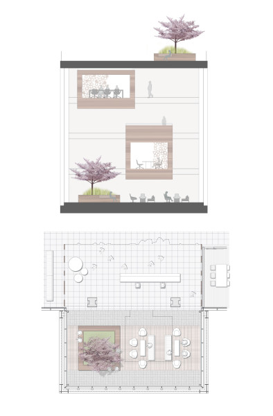 Telus Garden Protruding Box