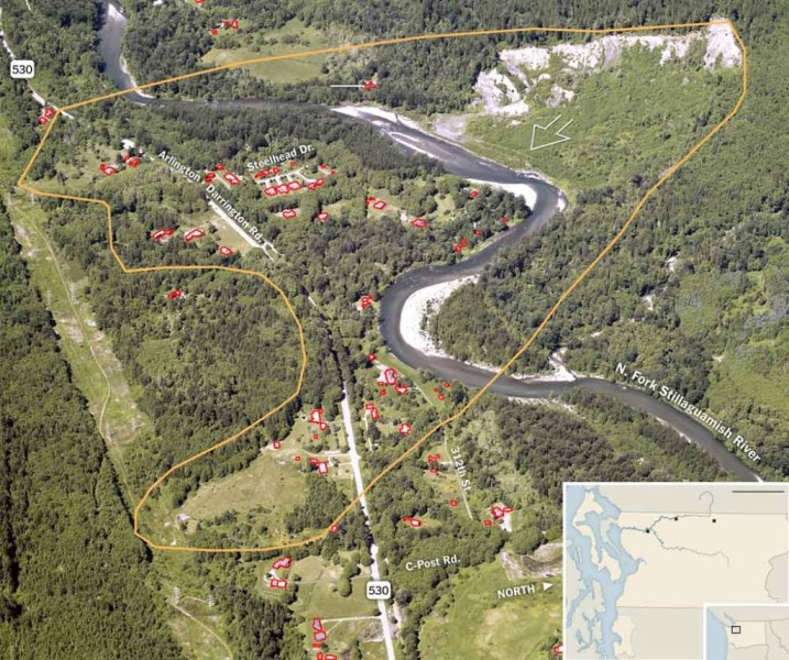 Washington State landslide