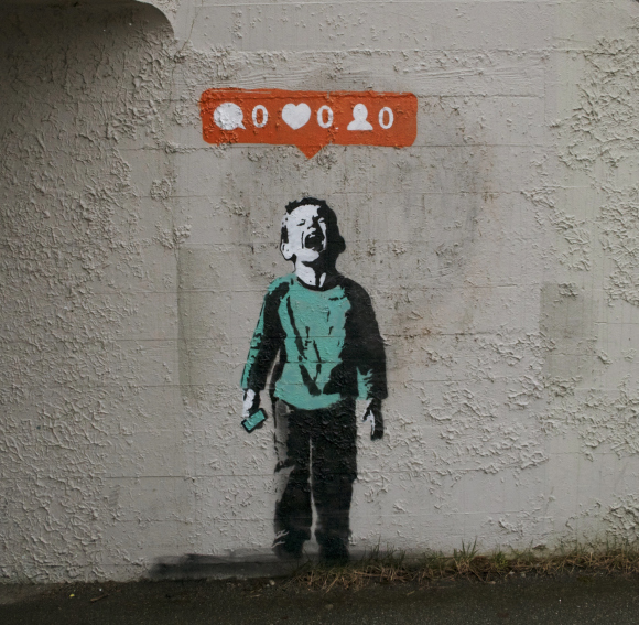 Nobody Likes You Banksy