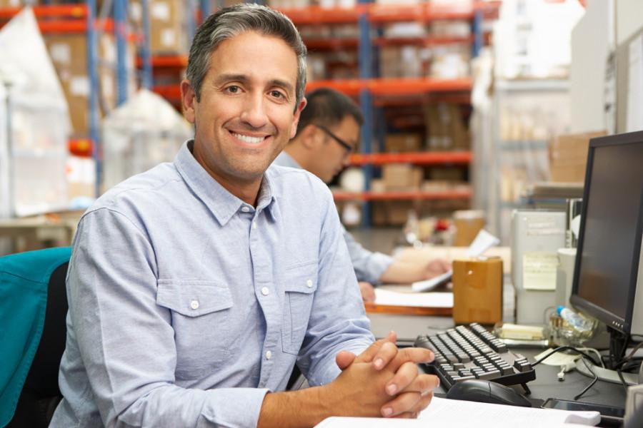 Businessman working / Shutterstock