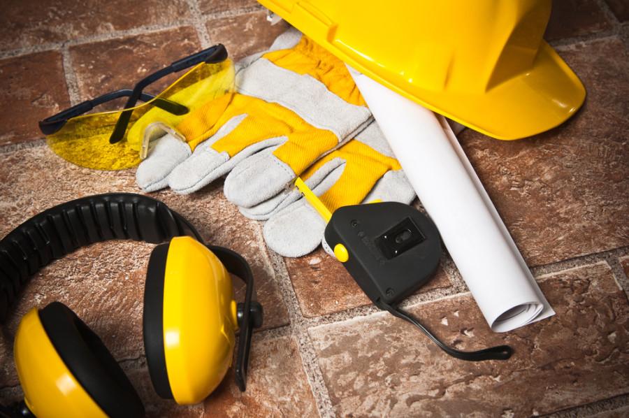 Construction safety equipment / Shutterstock