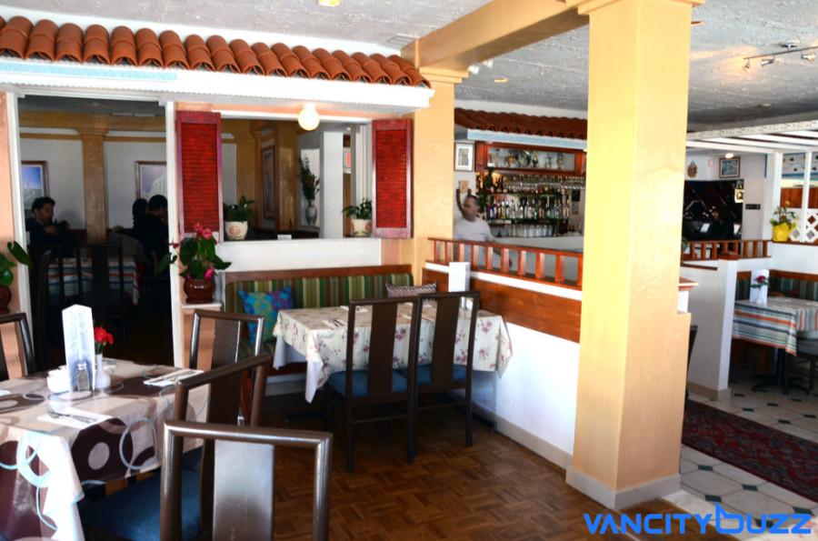Stepho's Souvlaki Greek Taverna on Robson Street Courtesy of: Sarah Kucharski