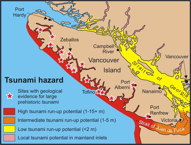 BC Earthquake Tsunami