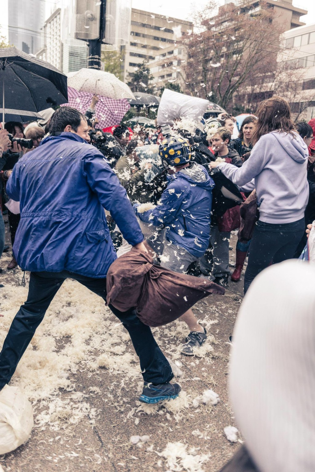 Vancouver Pillow Fight