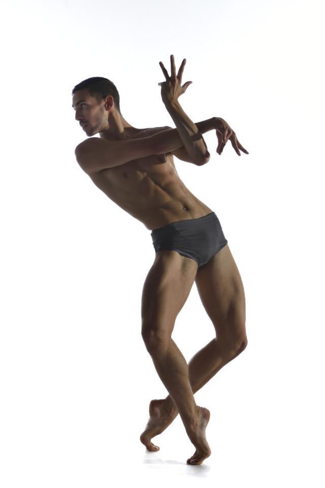 Ballet BC dancer Thibaut Eiferman