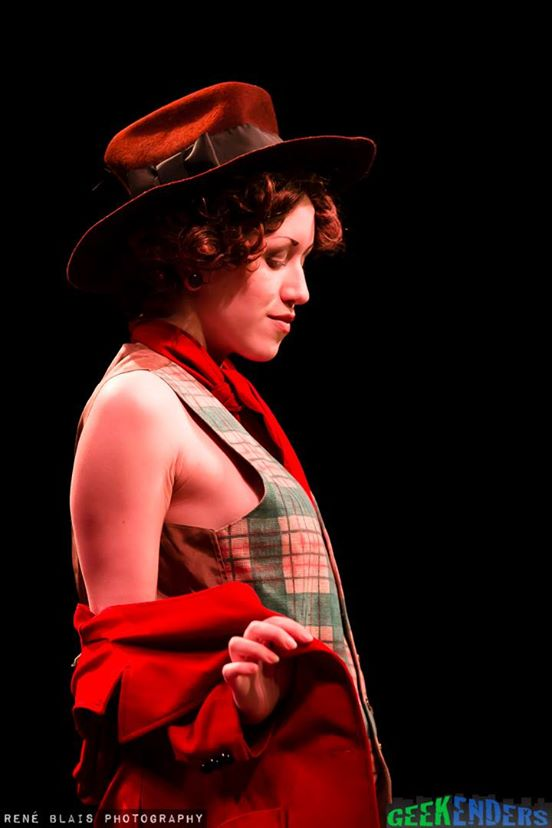 Dezi Desire as the Fourth Doctor.