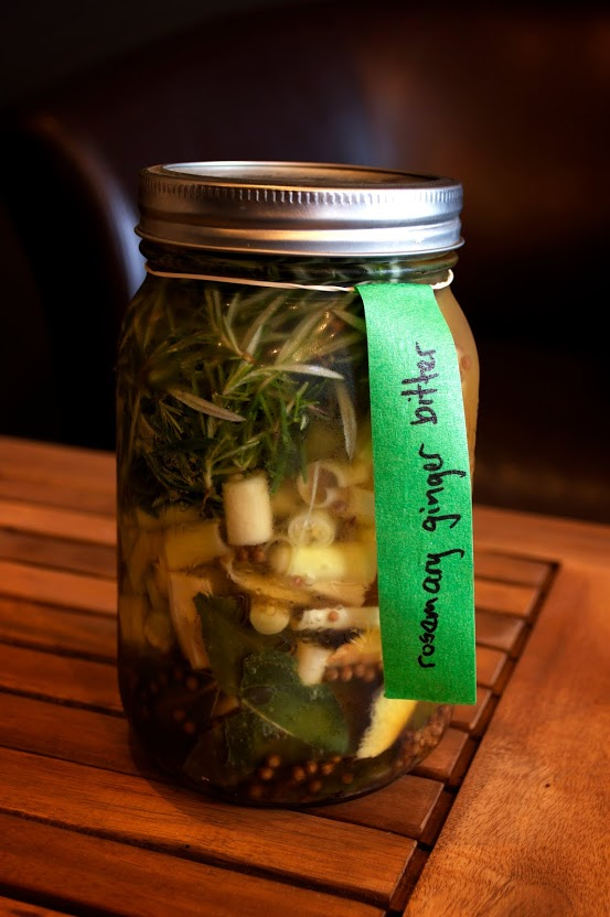 Rosemary Ginger Herb Bitter
