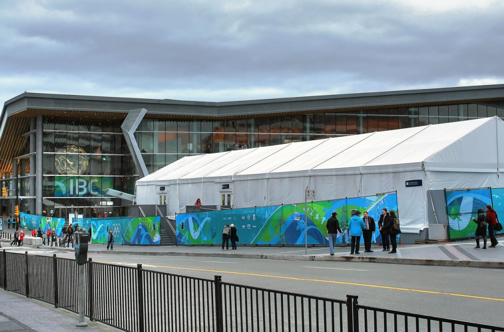 Vancouver Convention Centre Olympics IBC