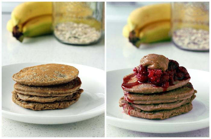 3-Ingredient Vegan Pancakes