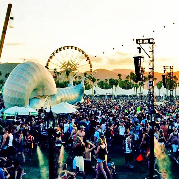 Coachella Music Festival Meeting Place