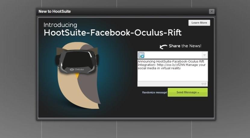 Hootsuite Virtual Reality