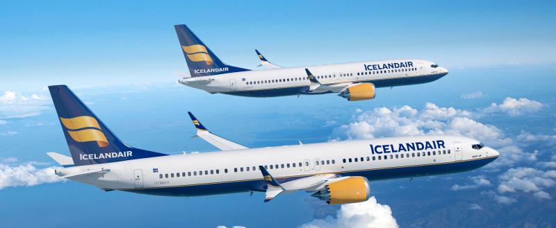 Icelandair aircraft. Photo: airlinereporter.com