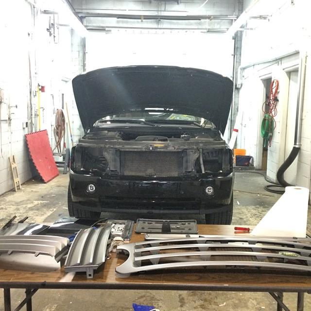 Canawrap Zack Kassian Black Matte Range Rover