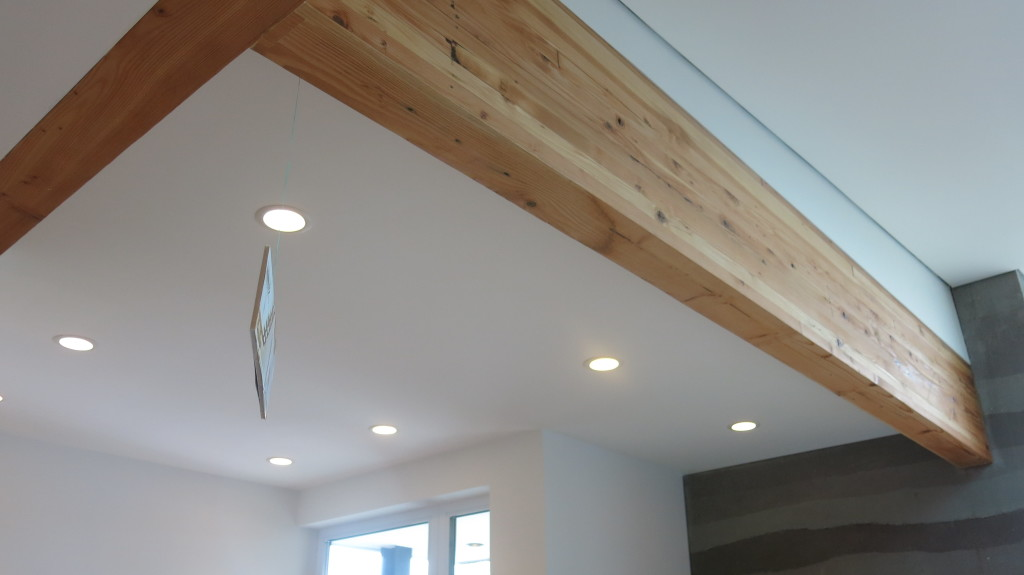 Image: More applications of the reclaimed timber for extensive structural purposes.