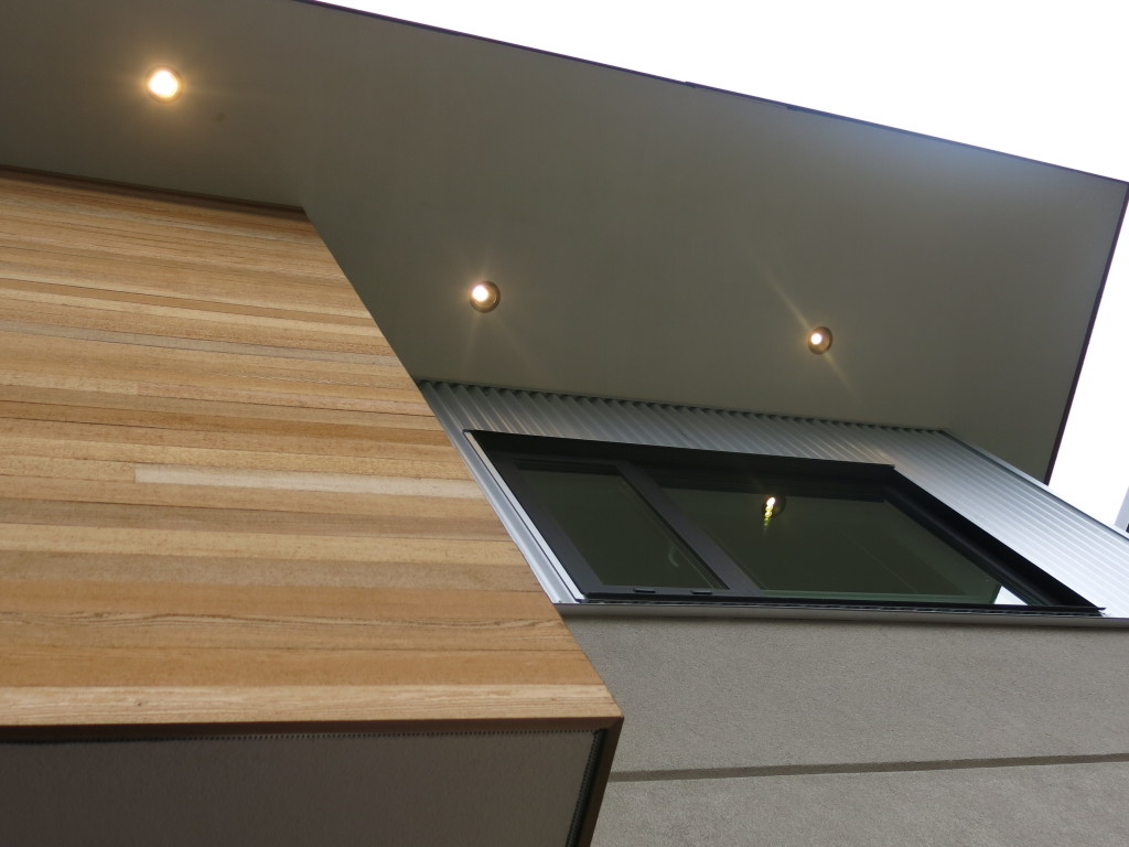 Image: Wall finishes chosen for their energy efficiency, greenness, and minimal required maintenance.