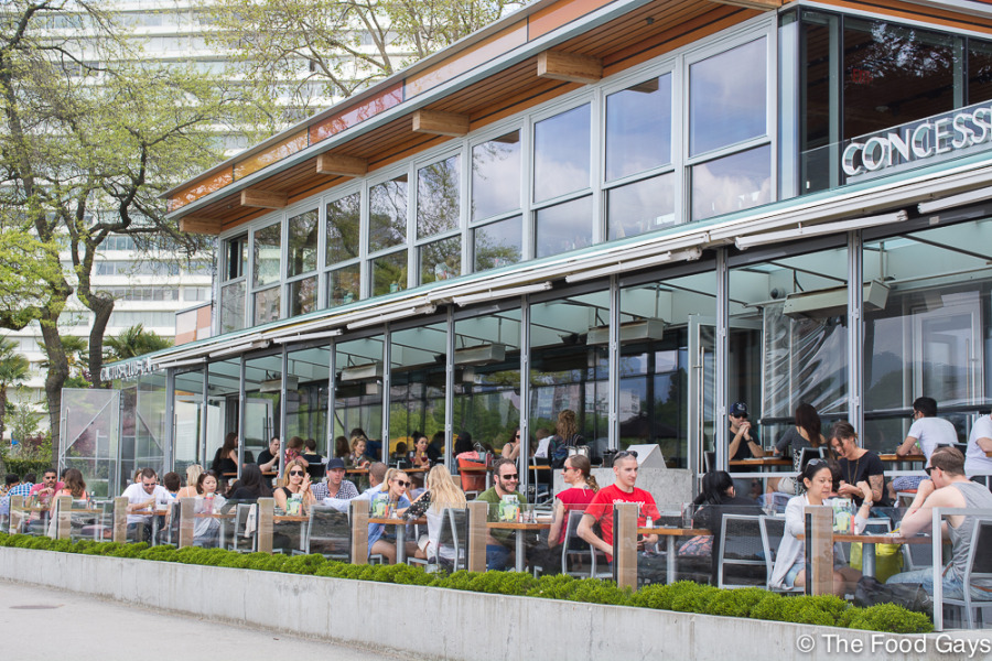 Cactus Club Cafe English Bay - Best West End Patios 2014