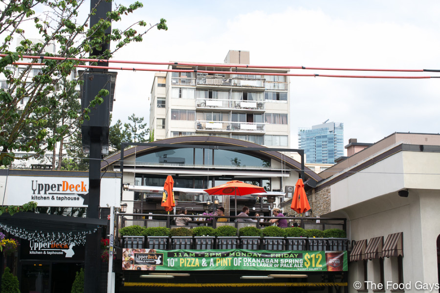 UpperDeck - Best West End Patios 2014