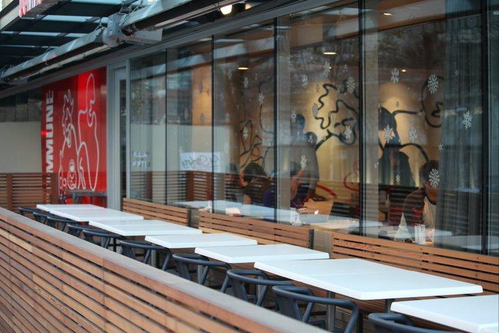 Commune Cafe Patio