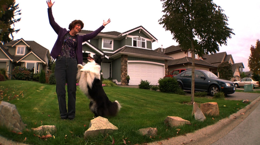 Gail and her dog Pepsi