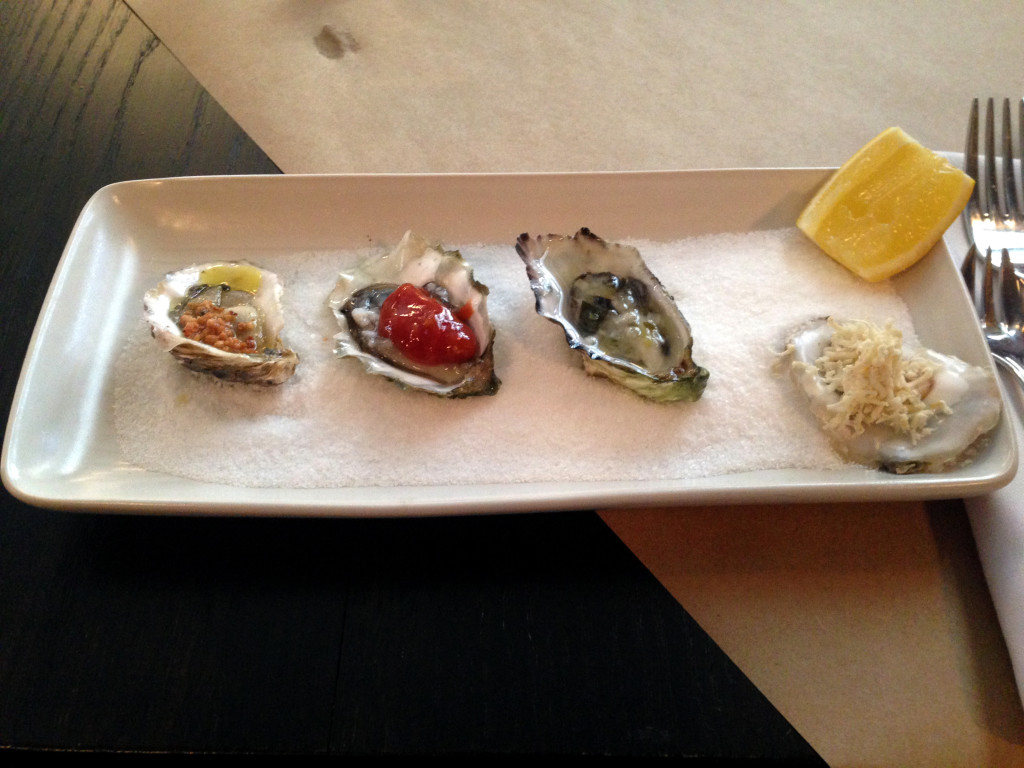 The Blackbird oysters