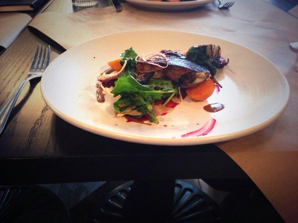 The Blackbird Duck Confit salad